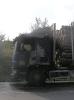 Požár nákladního auta Scania