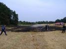 Požár pole u Robčic