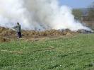 Požár stohu Losiná