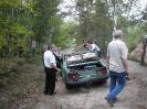 Vyzvedávání auta z lomu